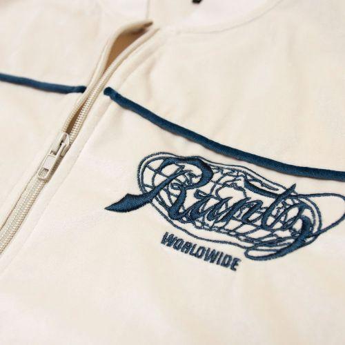 Worldwide Tracksuit Jacket by Runtz - Cream