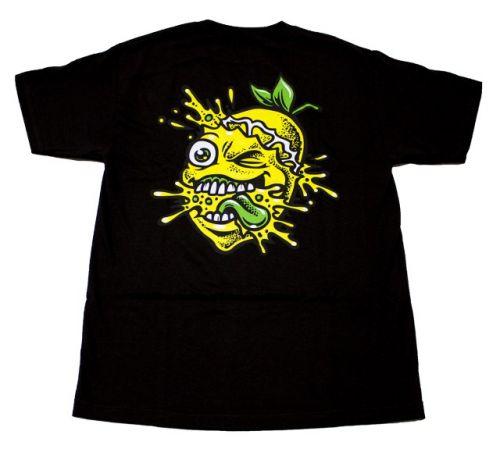 Lemon Tree Colour Splat T-Shirt - Black - Lemon Life SC