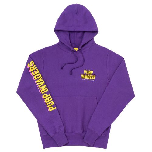 Purp Invaders Core Hoodie  - Purple By The Smokers Club